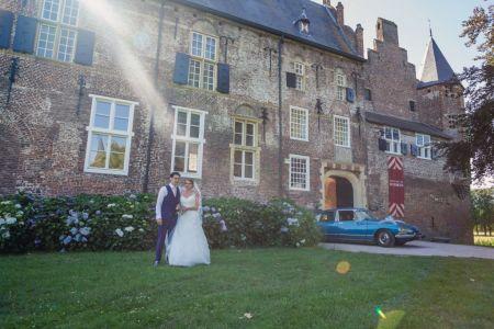 Bruidsfotograaf kasteel Hernen