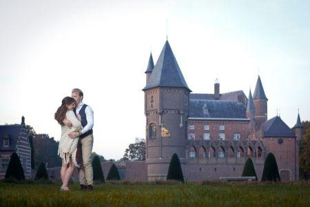 Portret fotoshoot fotograaf Nijmegen loveshoot Kasteel Heeswijk