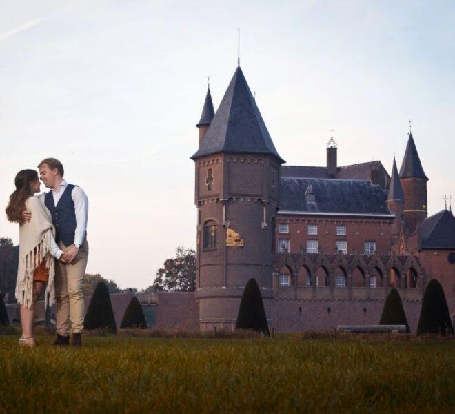 Portretfotograaf nijmegen Loveshoot kasteel heeswijk