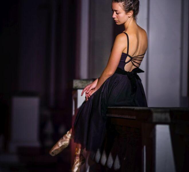 Portretfotograaf nijmegen Ballerina fortsgarten kleve dans fotoshoot