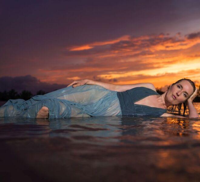 Portretfotograaf nijmegen Golden hours portret shoot Bemmel