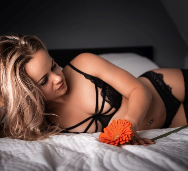 Sensueel boudoir fotoshoot boudoirfotograaf locatie Huissen