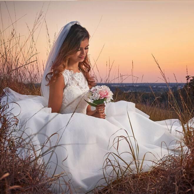 trouwfotografie mook nijmegen golden hour