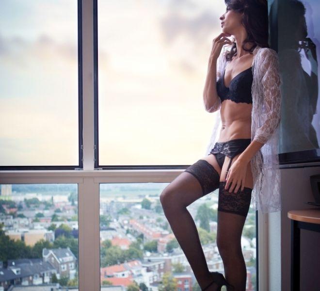 Boudoir fotoshoot penthouse Nijmegen Gelderand