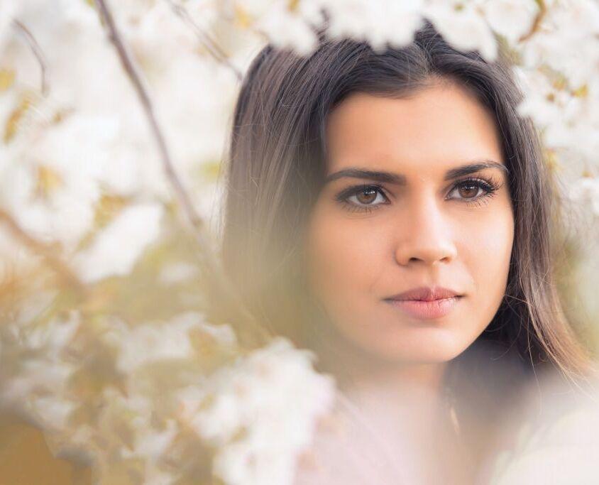 Fotoshoot bloesem Slijk-Ewijk