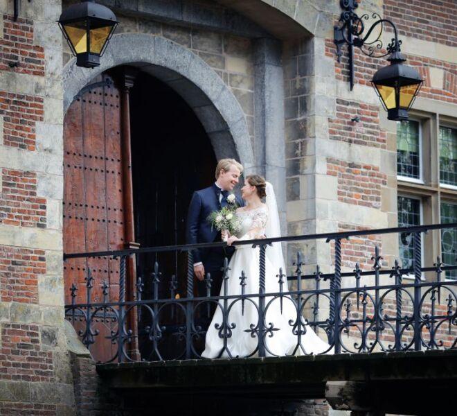 Trouwfotograaf portfolio bruidsfotograaf Nijmegen kasteel heeswijk