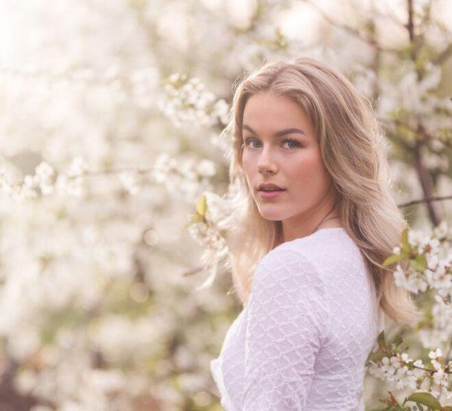 bloesem fotoshoot ressen portretfotograaf en modelfotograaf nijmegen