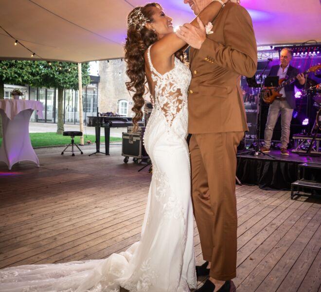 trouwen, bruidsfotograaf Nijmegen, Gelderland, openingsdans
